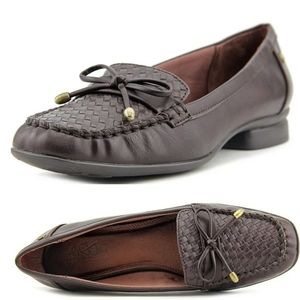 EUC 11 | LIFE STRIDE | WOVEN VEGAN LEATHER LOAFER